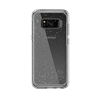 OtterBox Galaxy S8 MySymmetry Clear/Silver Flake
