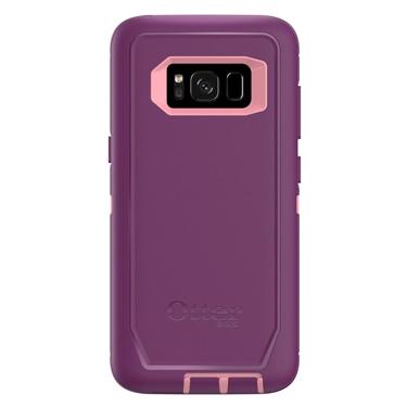 OtterBox Galaxy S8 Defender Dark Pink/Purple Vinyasa
