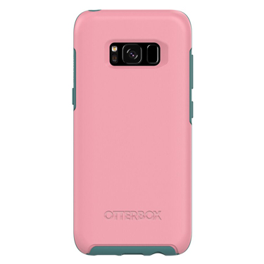 OtterBox Galaxy S8 Symmetry Pink/Green Prickly Pear