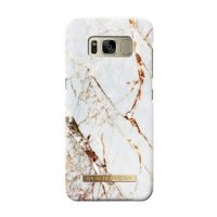 Ideal of Sweden Galaxy S8 Carrara Gold English Only