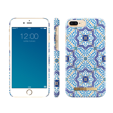 Ideal of Sweden iPhone 6S+/7+/8+ Marrakech Blue Patt