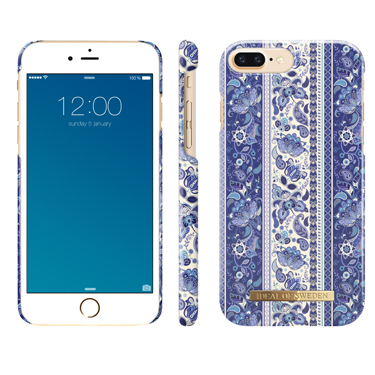 Ideal of Sweden iPhone 6S/7/8 Boho Blue Pattern