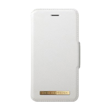 Ideal of Sweden iPhone 7/8 Saffiano Leather Wallet White