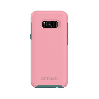OtterBox Galaxy S8+ Symmetry Dark Pink/Green Prickly Pear