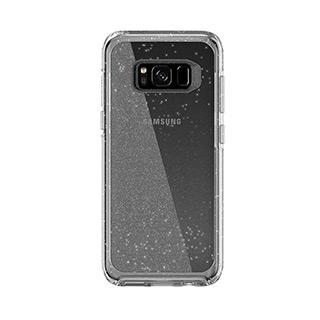 OtterBox Galaxy S8+ MySymmetry Clear/Silver Flake Stardust