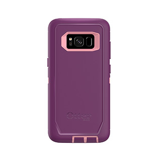 OtterBox Galaxy S8+ Defender Dark Pink/Purple Vinyasa
