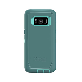 OtterBox Galaxy S8+ Defender Blue/Light Blue Aqua Mint Way