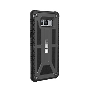 UAG Galaxy S8+ Monarch Black Graphite