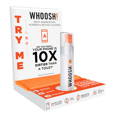 PROMO Displayer Whoosh! Try Me Display free w/Buy-in 36x38755