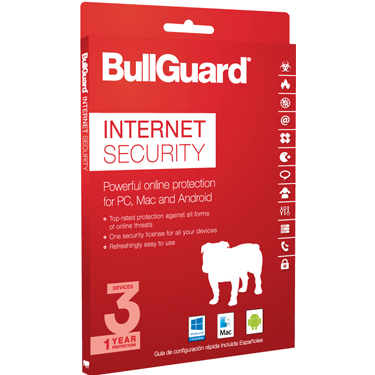 BullGuard Internet Security 2018 3-User 1Yr