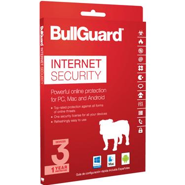 BullGuard Internet Security 2018 1Yr 3-User