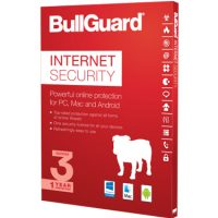 BullGuard Internet Security 2018 1Yr 3-User Tech Bench
