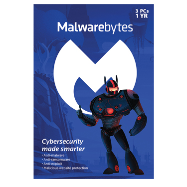 Malwarebytes Premium v3 3-User 1-Year BIL *47203*