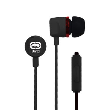 Ecko Royce Earbuds Metal w/Mic & Control Black