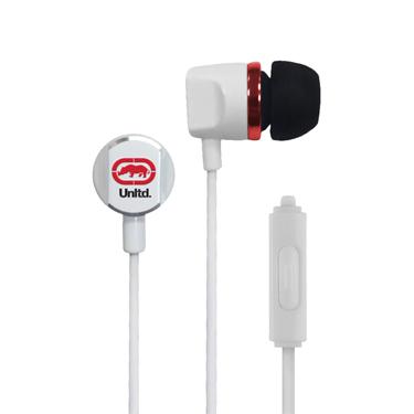 Ecko Royce Earbuds Metal w/Mic & Control White