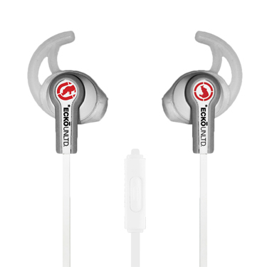 Ecko Fuse Earbuds Sport w/Mic & Control White
