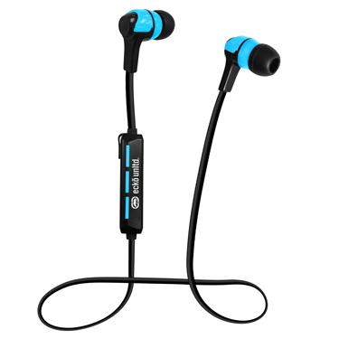 Ecko Trek Earbuds Bluetooth Blue w/Mic