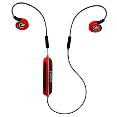 Ecko Jolt Earbuds Bluetooth Sport w/Mic Red