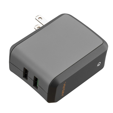 Ventev Wall Charger 2Port 3A 18W Qualcomm 3.0