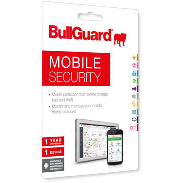 BullGuard Mobile Security 1Yr 1-User OEM Digital Key