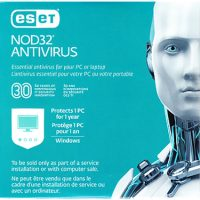 Eset Nod32 Antivirus OEM V10 1-User 1-Year Sleeve BIL RTL