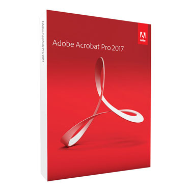 Adobe Acrobat Pro 2017 for Windows