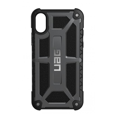 UAG iPhone X Monarch Black/Black Crimson