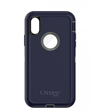 OtterBox iPhone X Defender Green/Blue Stormy Peaks