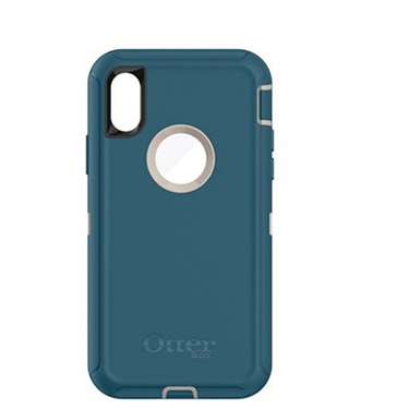 OtterBox iPhone X Defender Beige/Blue Big Sur