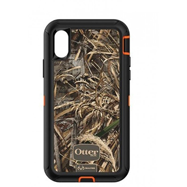 OtterBox iPhone X Defender Camo Orange/Blk Realtree Max 5