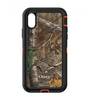 OtterBox iPhone X Defender Camo Orange/Blk Realtree Xtra