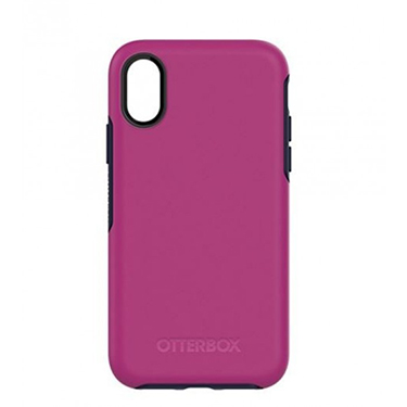 OtterBox iPhone X Symmetry Red/Blue Mix Berry Jam