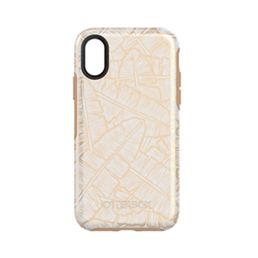 OtterBox iPhone X Symmetry White/Brown Throwing Shade