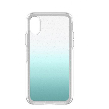 OtterBox iPhone X Symmetry Silver Flake Aloha Ombre