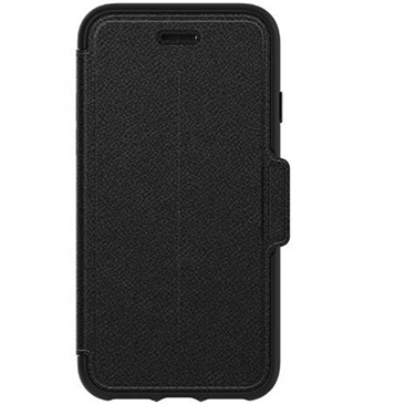 OtterBox iPhone X Strada Folio Leather Black/Grey Shadow