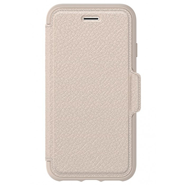 OtterBox iPhone X Strada Folio Leather Beige/Beige Soft Opal