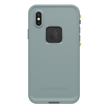LifeProof iPhone X Fre Lime/Grey Drop In