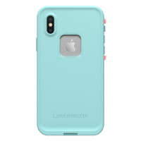 LifeProof iPhone X Fre Blue/Coral Wipeout