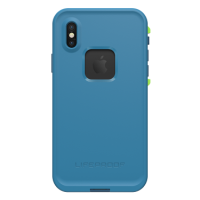 LifeProof iPhone X Fre Blue/Blue Banzai Blue