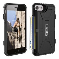 UAG iPhone 6S/7/8 Trooper Card Black/Black