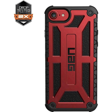 UAG iPhone 6S/7/8 Monarch Red/Black Crimson