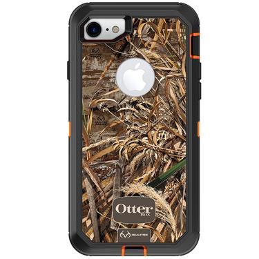 OtterBox iPhone 7/8 Defender Camo Orange/Blk Realtree Max 5