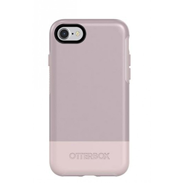 OtterBox iPhone 7/8 Symmetry White/Purple Skinny Dip
