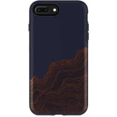 OtterBox iPhone 7/8 Symmetry Blue/Brown Good Vibrations