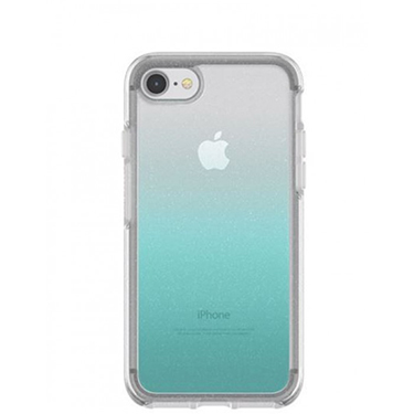 OtterBox iPhone 7/8 Symmetry Silver Flake Aloha Ombre