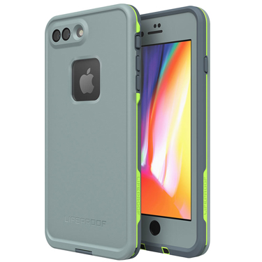 Lifeproof iPhone 7+/8+ Fre Grey/Lime Drop In