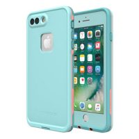 Lifeproof iPhone 7+/8+ Fre Light Blue/Pink Wipeout