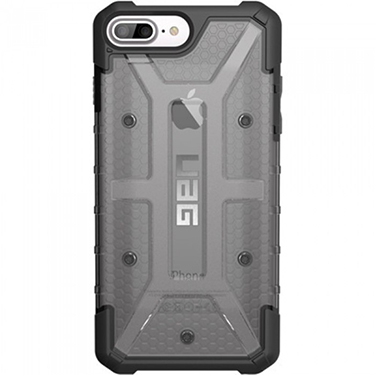 UAG iPhone 6S+/7+/8+ Ash Plyo Grey/Clear