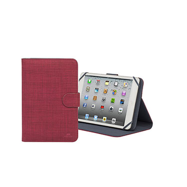 RivaCase Universal Tablet Case 8in Biscayne 3314 Red