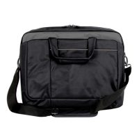 ToteIt! Laptop Bag Signature 15.6in Black Weather Resistant
